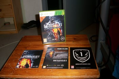 battlefield 3 édition collectors
