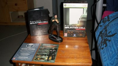 splinter cell conviction édition collectors