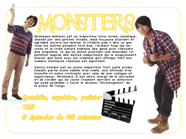 #DRAMA : MONSTERS