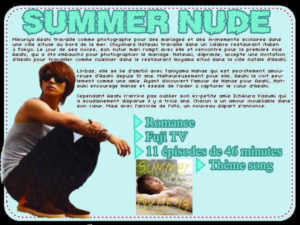 #DRAMA : SUMMER NUDE