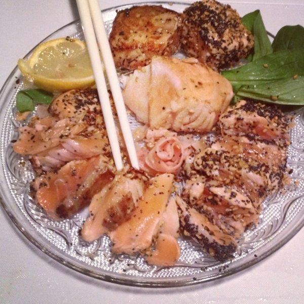Tataki de saumon <3