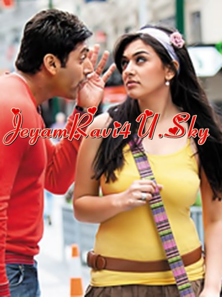 unseen scans from kumgumam ( jeyam ravi and hansika )