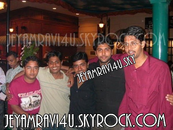 @actor_jayamravi :Happy friendship day!! actor jeyam ravi with his friends EXCLUSIVE !!