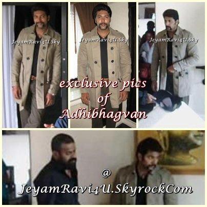 EXCLUSIVE pics from adhibhagvan ( on set )
