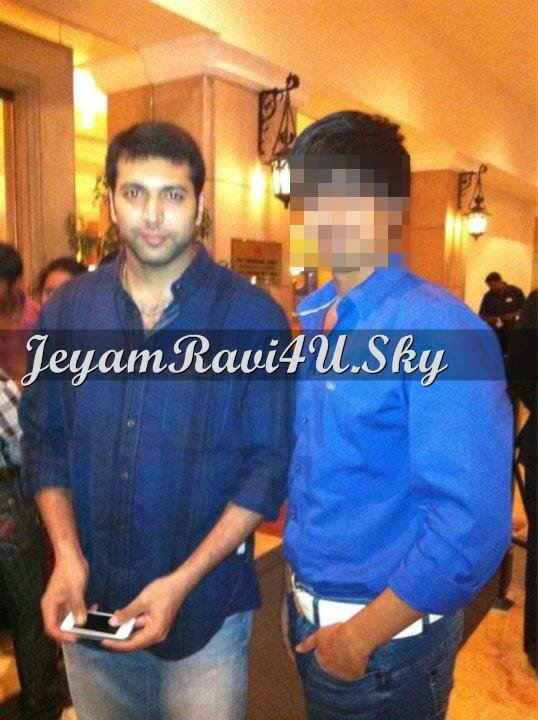 JEYAM RAVI spotted with fan ( and news updates )