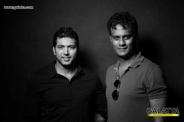 Jeyam Ravi on Karthik Srinivasan's 2012 celebrity calender