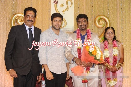 Ravi at Anbalaya Son Reception