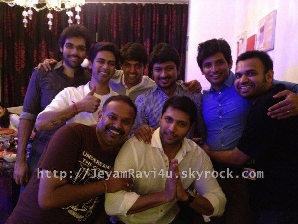 ravi celebrate's aarti's birthday