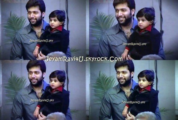 Baby AARAV ( Jeyam Ravi's son )