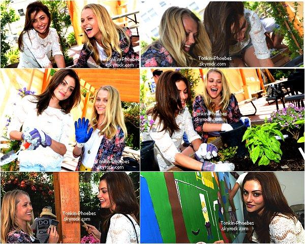 Appearences June 2012 : Phoebe était à Los Angeles,avec son amie Teresa Palmer (actrice ) ! Votre Avis ? perso : j'aime beaucoup sa tenue,Phoebe & Teresa sont superbes ♥