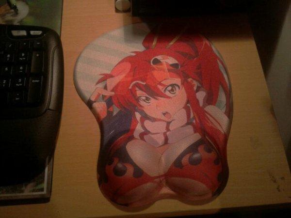 Mon new tapis de souris ^^