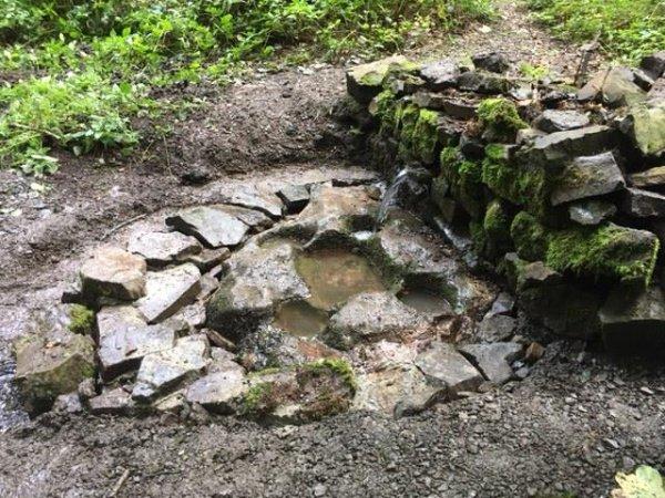 Restauration de la source de Saint-Thibaut