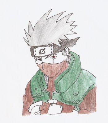 Kakashi hatake blog de le trio de dessin - Dessin kakashi ...