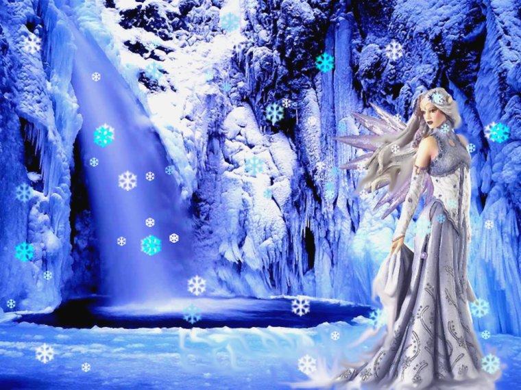 fée de l'hiver