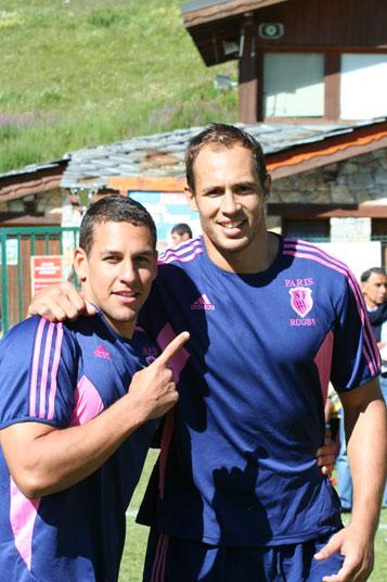 Sergio Parisse & Julien Arias