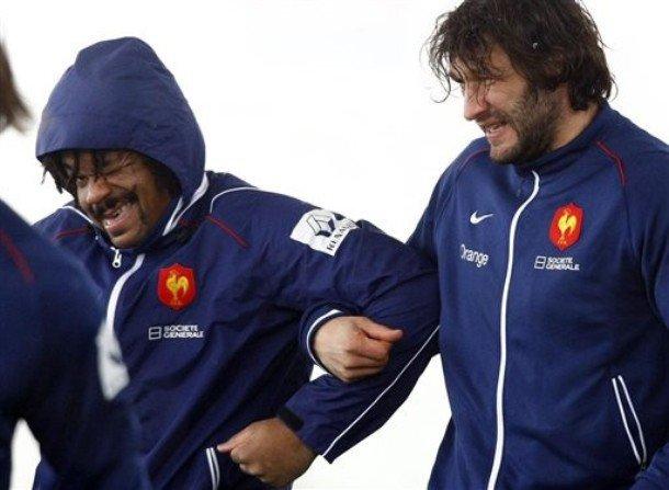 Mathieu Bastareaud & Lionel Nallet