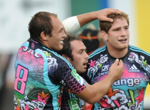 Sergio Parisse, Julien Dupuy & Pascal Papé