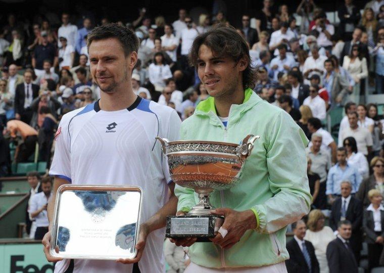 Robin Soderling & Rafael Nadal