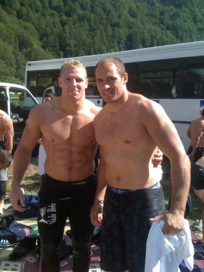 James Haskell & Sergio Parisse