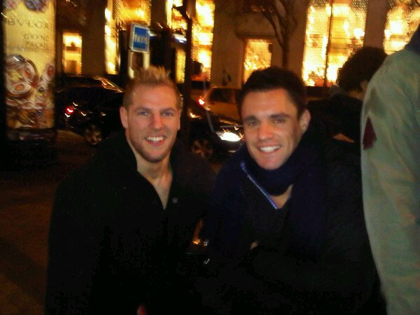 James Haskell, Dan Carter & Richie McCaw