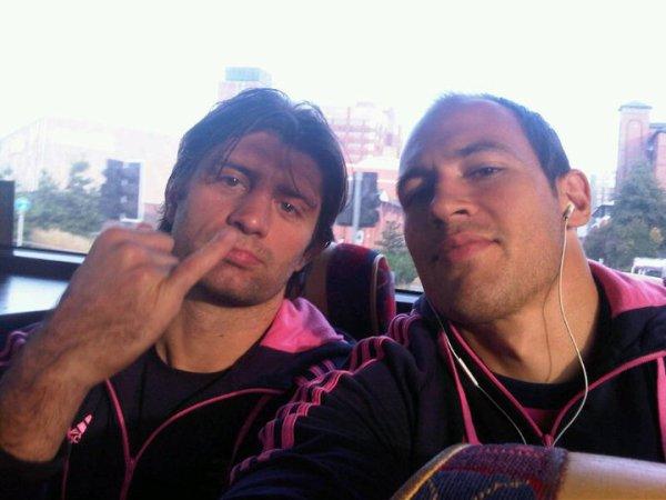 Pierre Rabadan & Sergio Parisse