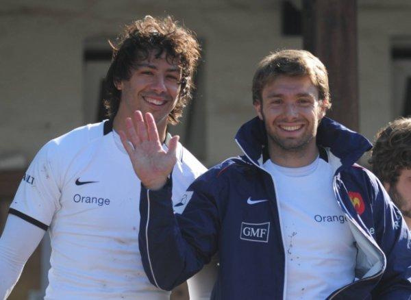 Clément Poitrenaud & Vincent Clerc