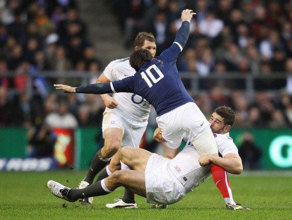 Angleterre 17 - 9 France
