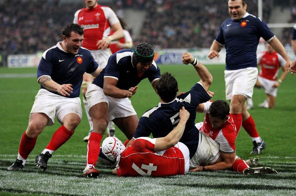 France 28 - 9 Pays de Galles