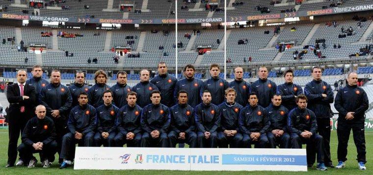 France 30 - 12 Italie
