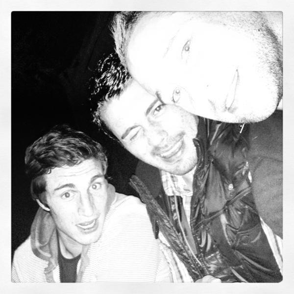 Sylvain Nicolas, Luke McAlister & Yann David
