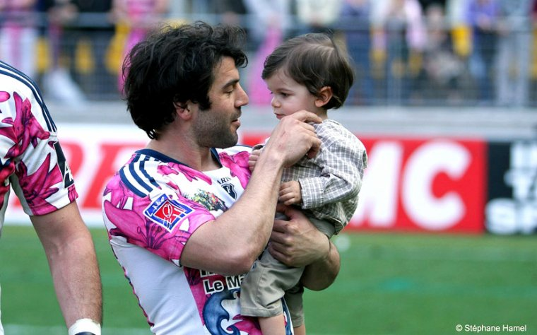 Jérôme Fillol & his son