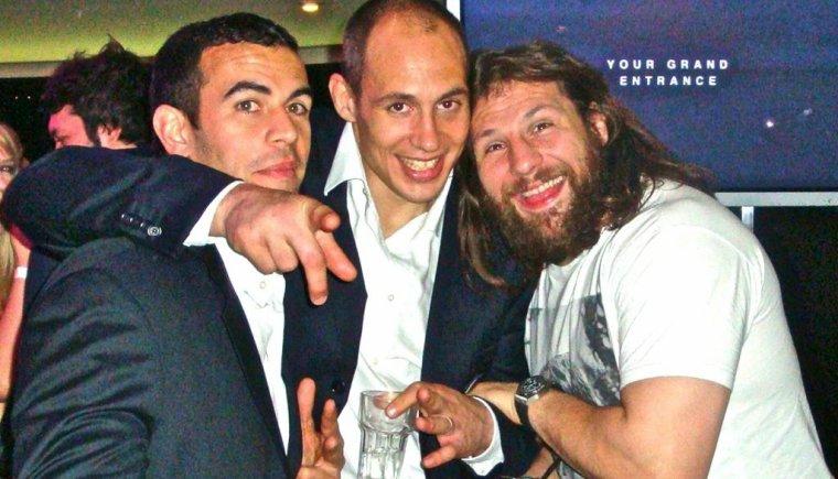 Gonzalo Canale, Sergio Parisse & Martin Castrogiovanni