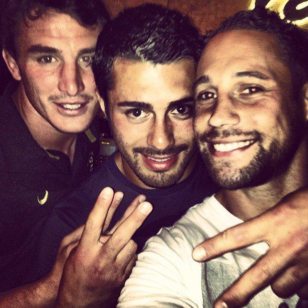 Louis Picamoles, Yann David & Luke McAlister
