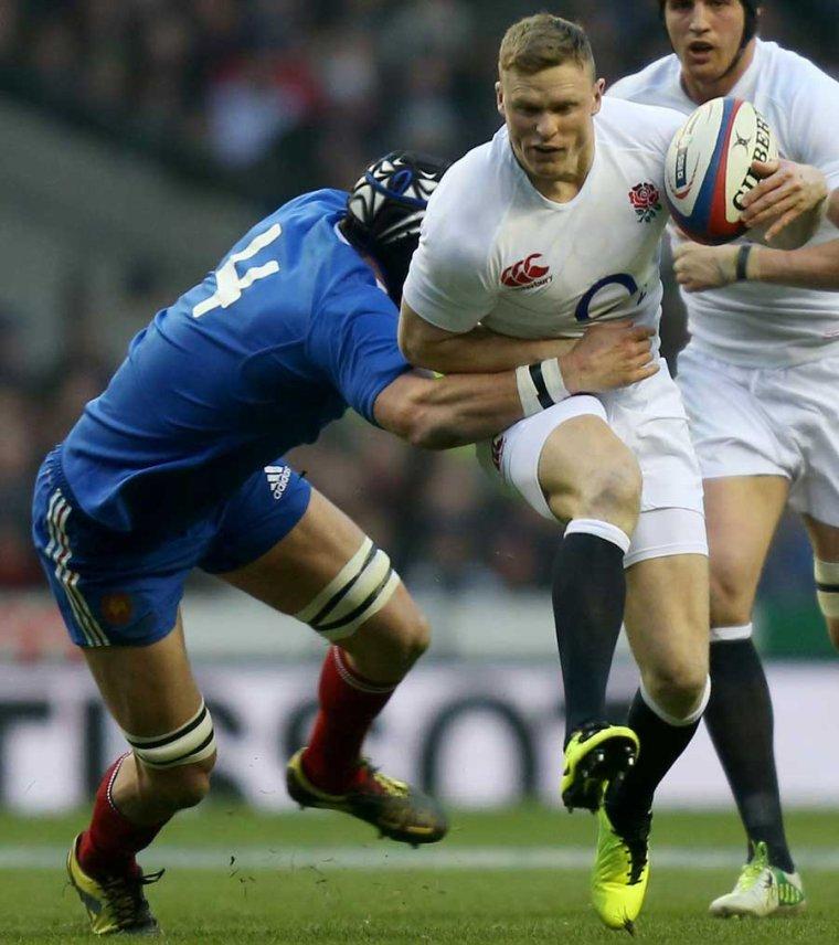 Angleterre 23 - 13 France