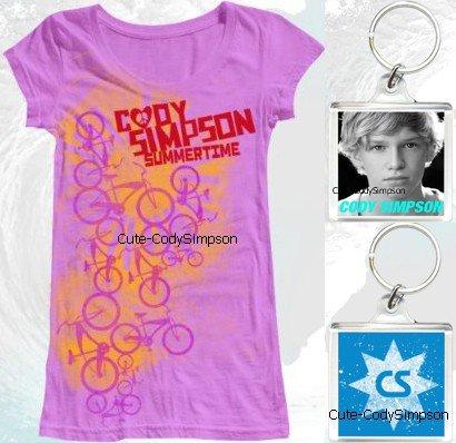 *Tu veux avoir la Cody attitude ?Alors qu'attends-tu ils viennent de lancer la nouvelle mode du fantastique Cody ! Vous pouvez acheter des chemises Cody et encore bien plus ...:) Dans le magasin les éléments actuellement disponibles sont Girls 'Summertime T-shirt (15 $), plongée sous-marine à col en V T-shirt (15 $), Cody Trousseau (10 $) et Cody Poster (10 $). Et ils vont sortir encore bien plus d'articles ! Alors qu'attendez vous pour acheter dans le magasin Merch? *(Rajoute : Cute--CodySimpson@hotmail.com => hé dis le moi)  *@Follow me :) *Deviens Fans ♥:)