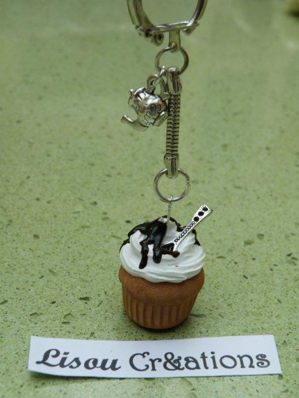 Cupcake Chantilly-Choco