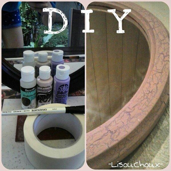 DIY :Rénovation d'un miroir. ✂