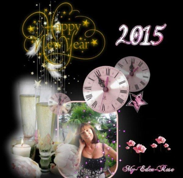 à tous mes ami(e)s Joyeuse Année 2015