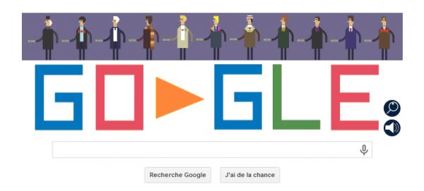 Google rends hommage à la série Doctor Who