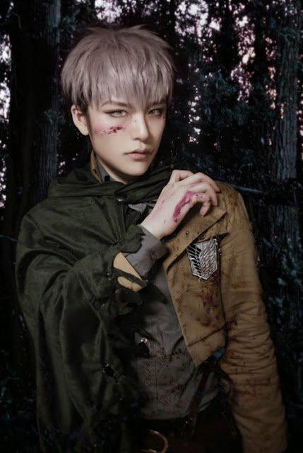 Shingeki no kyojin Jean Kirschstein Cosplay