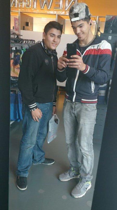moi et mon couzin en ville