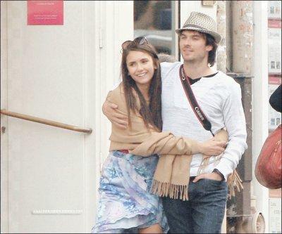 Le Weed End secret de Ian Somerhalder et Nina Dobrev à Paris le 21 et 22 mai 2011