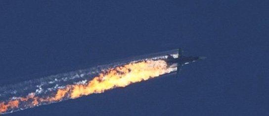 Un bombardier russe abattu, près de la frontière turque