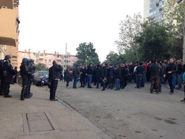 300 manifestants se sont massés dimanche après-midi à Ajaccio malgré l'interdiction de manifester