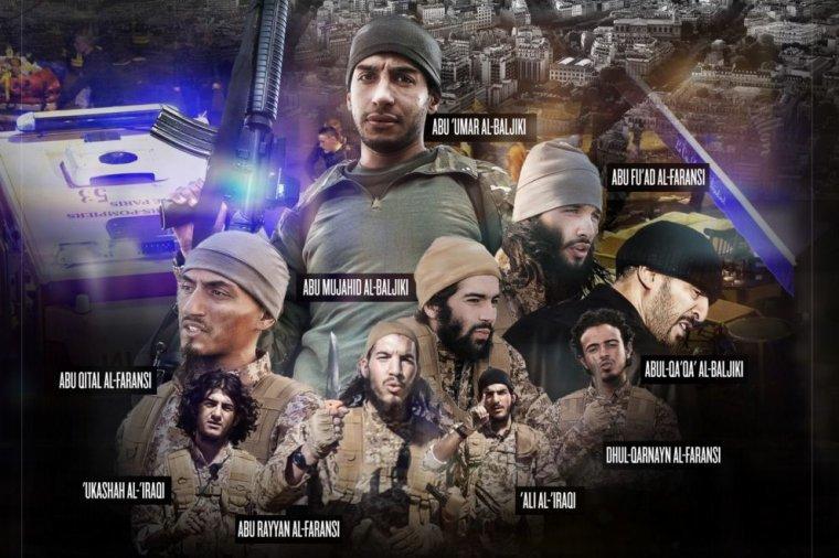 Le portrait de famille diffusé par Daech sur attentats du 13 novembre à Paris