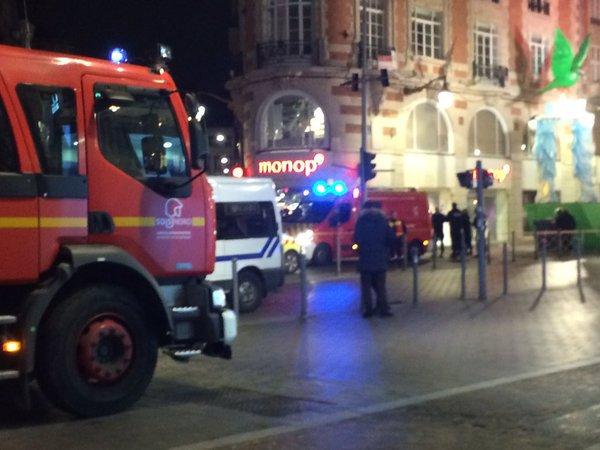 Braquage et prise d'otage à Lille