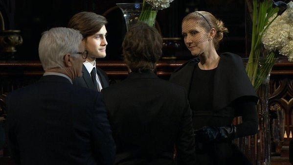 Chapelle ardente pour René Angélil, Céline Dion soutenue par ses fans