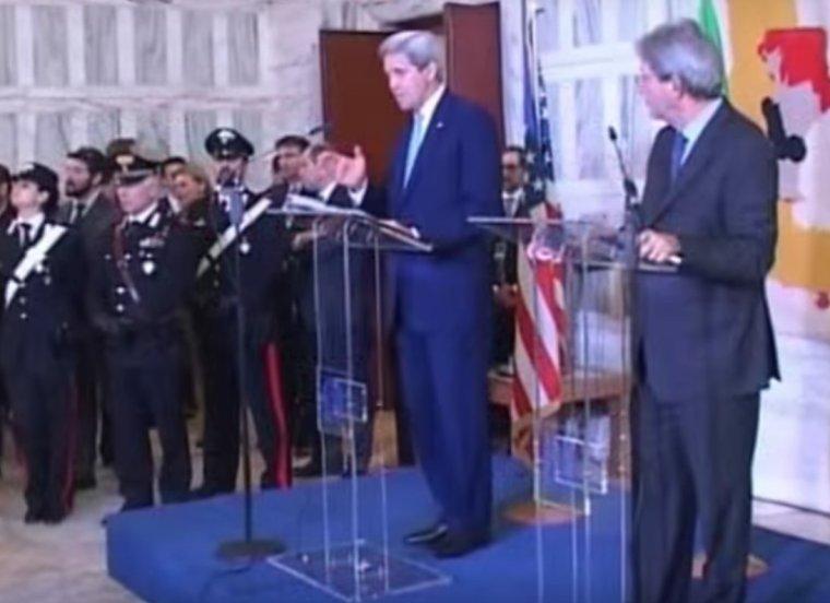 Italie et les Etats-Unis accuse d'avoir créé Daesh