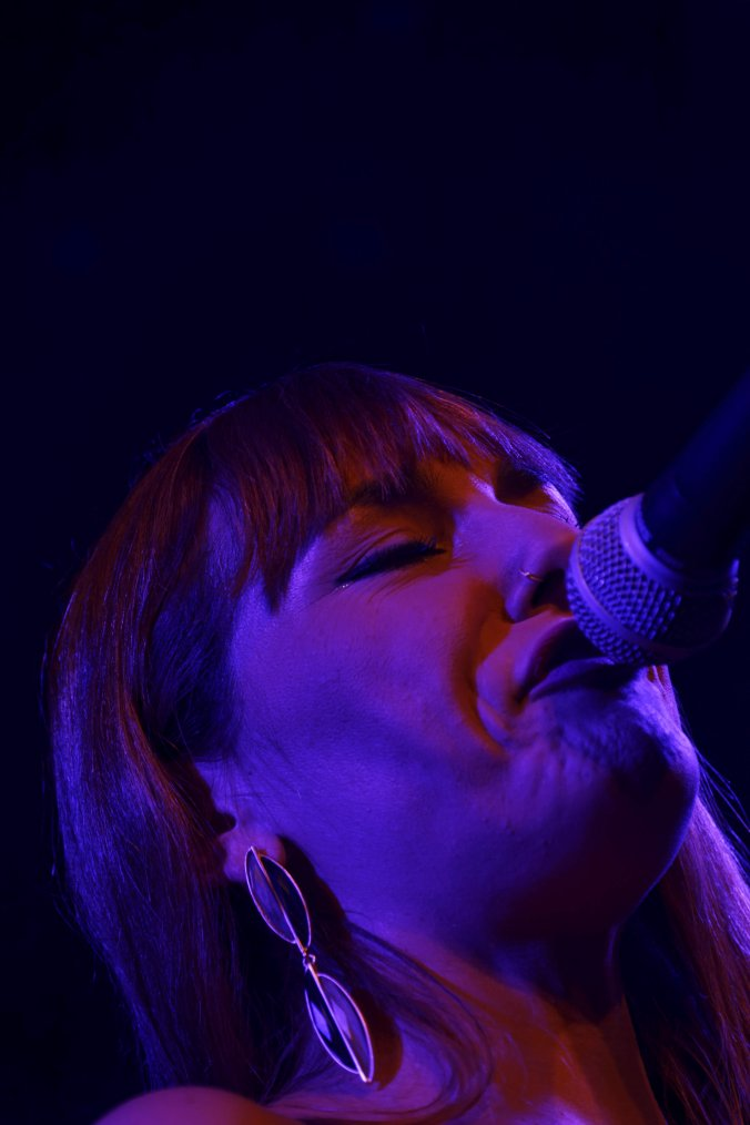 Marta Ren & The Groovelvets en concert Live sur la scène du Plan à Ris-Orangis