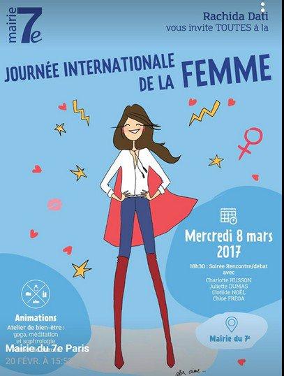 Le 8 mars, on fête les femmes